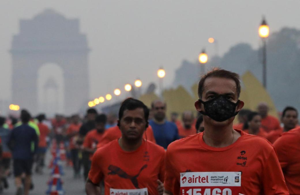 Image result for . New Year Half Marathon delhi