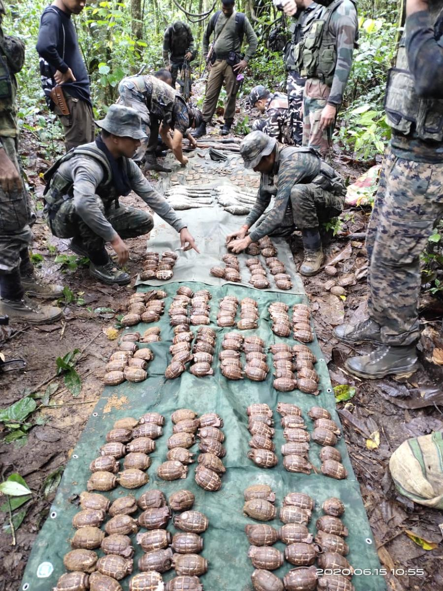 Indian Army Recovers 192 Grenades In Assam Deccan Herald
