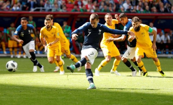 Image result for australia penalty vs france