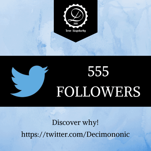 Decimononic - Join our Twitter community!