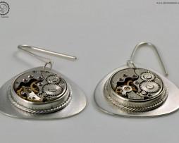 Decimononic - Air Nostrum earrings