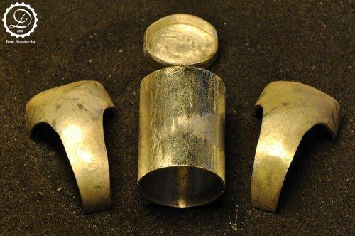 Decimononic - Time seal ring making-of 3