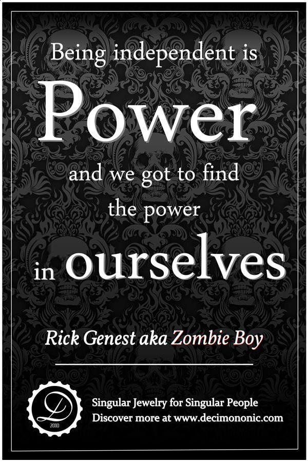 Decimononic - Words of Singularity - Zombie Boy