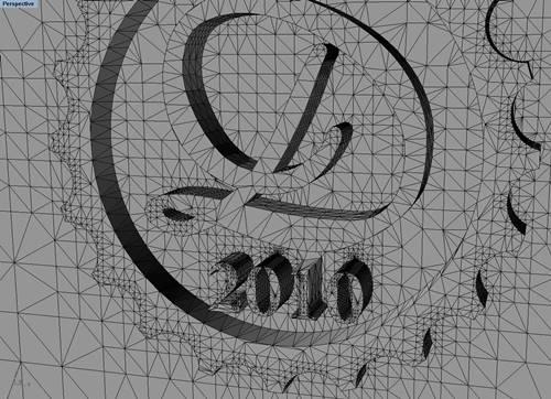 Decimononic logo 3D