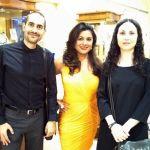 Decimononic team with Reena Ahluwalia