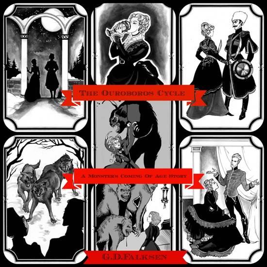 GD Falksen - Oruroboros Cycle illustrations