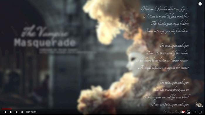 Peter Gundry - The Vampire Masquerade - A Singular Soundtrack by Decimononic