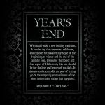 Year's End – The Goblin Market