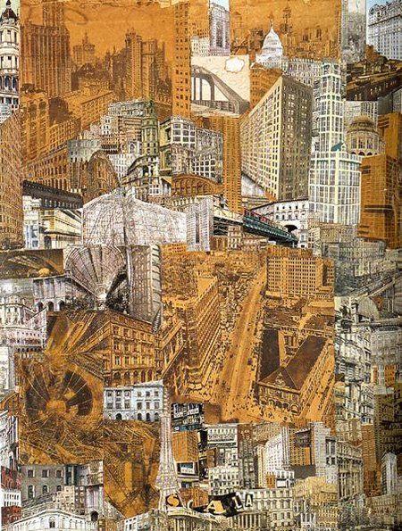 Metropolis collage by Roelof Paul Citroen