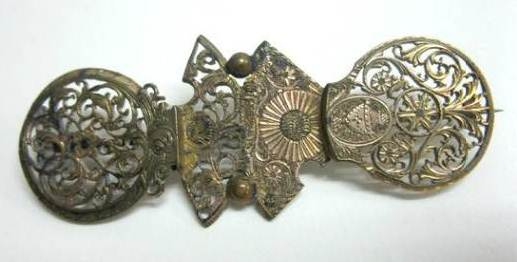 Brooch of pocket watch balance-cocks | Author: Powerhouse Museum | Publisher: Powerhouse Museum, Australia