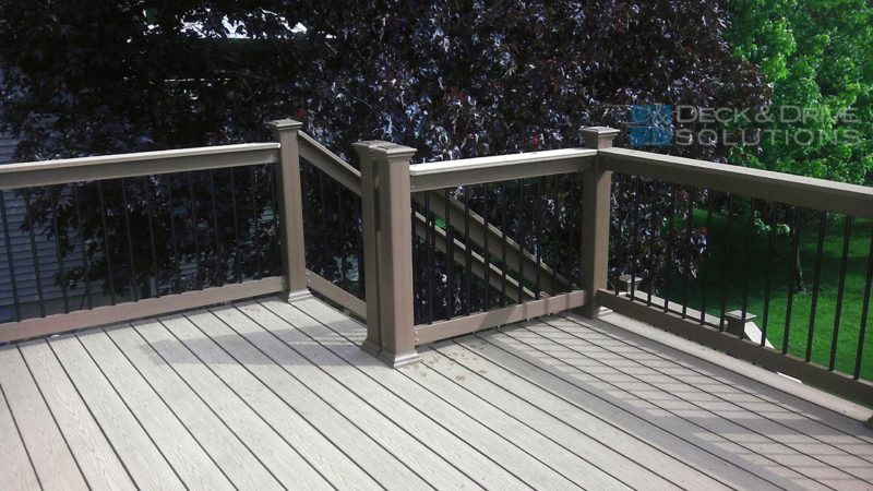 Deck Railing Construction