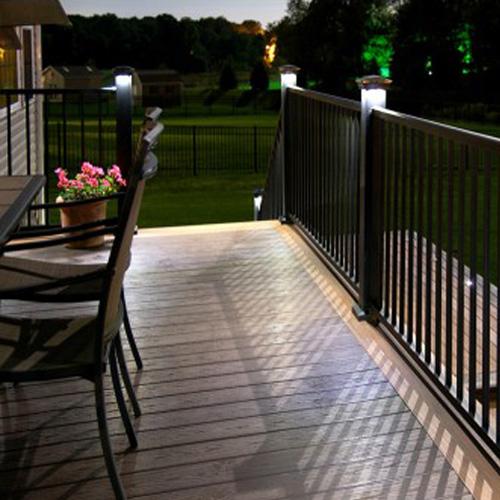 solar decking lighting solar deck
