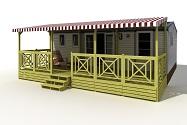 Terrasse mobil home