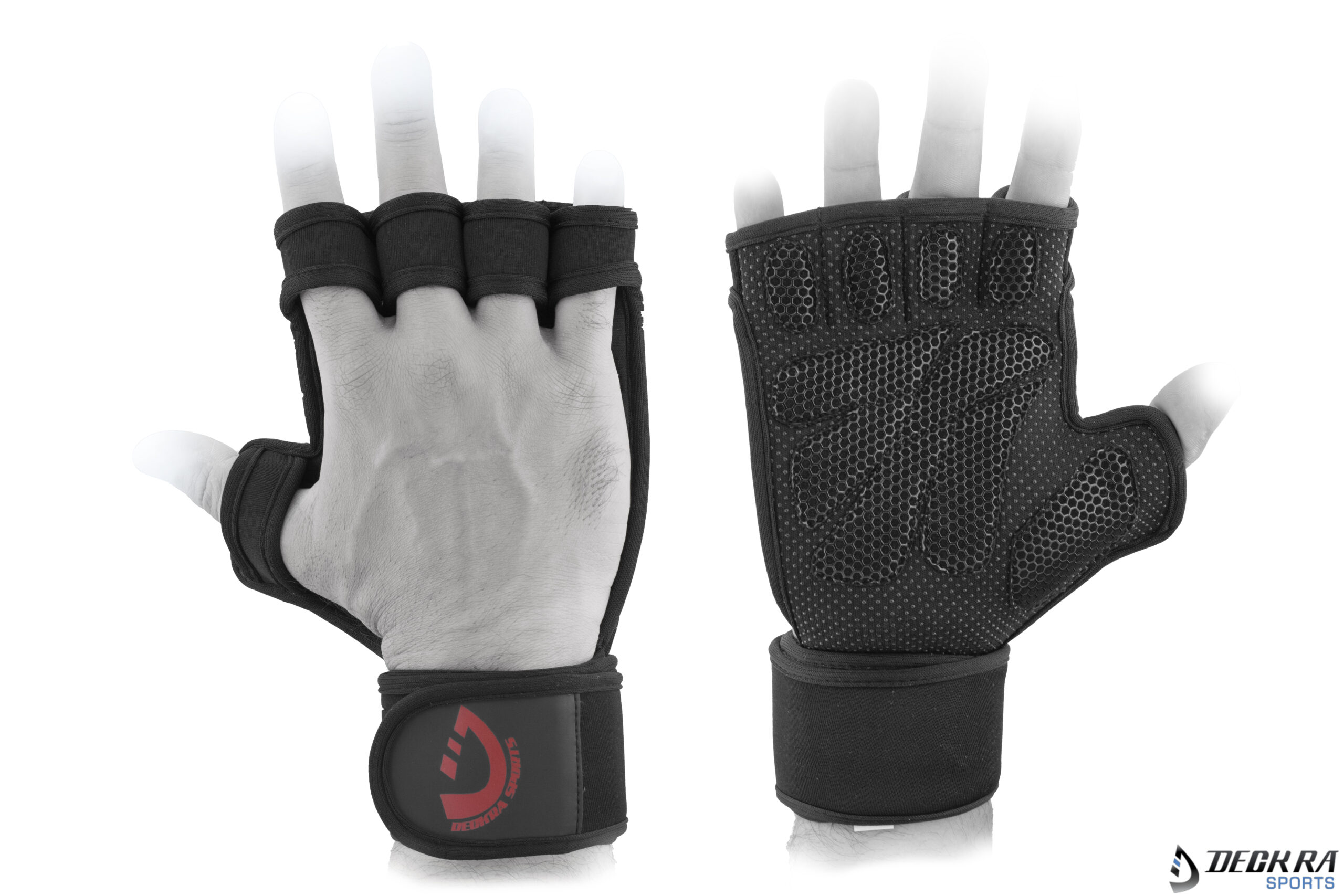 Genuine Leather Gym Gloves Weight Lifting Sport Training Gloves  Fits All Grip