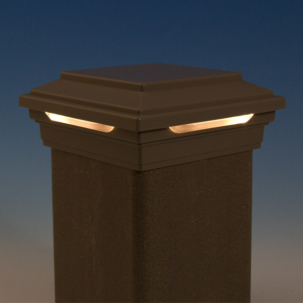 6 X 6 Solar Post Cap Lights