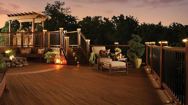 led deck lighting decksdirect