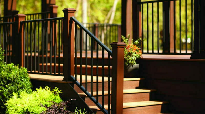 Choose A Metal Railing For Years Of Beauty And Durability | Wood And Metal Handrail | Interior | Iron Railing | Architectural Modern Wood Stair | Stainless Steel | Traditional