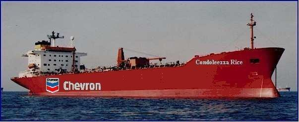 Condoleeza Rice oil tanker