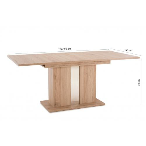 table a manger extensible bois orvut