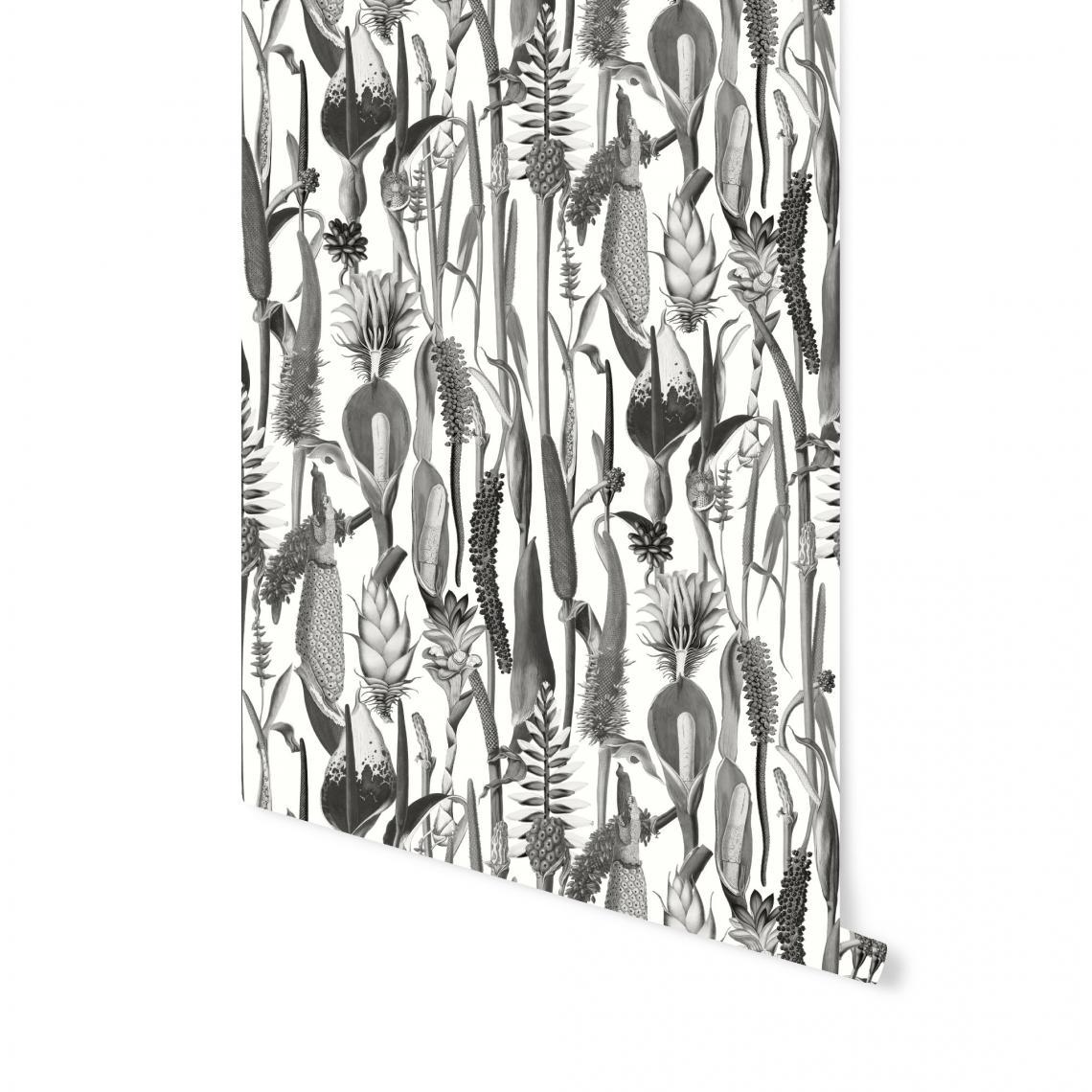 papier peint babylonia noir et blanc