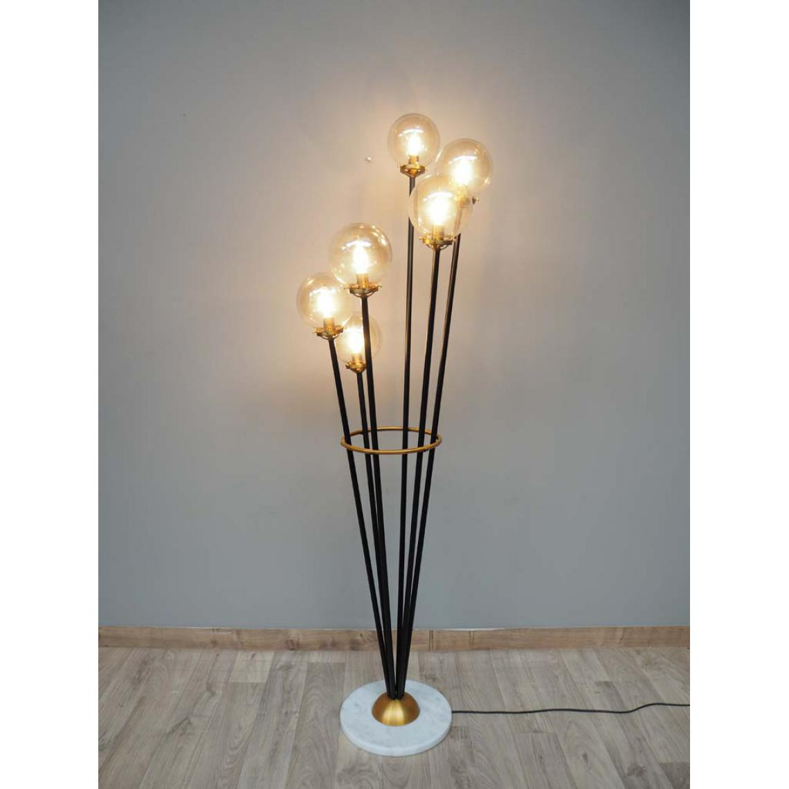 lampe sur pied marbre citifia