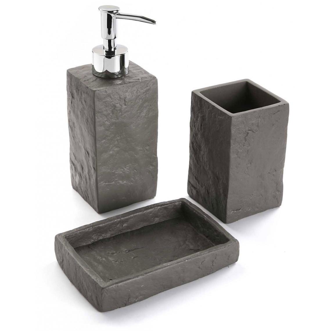 porte savon effet pierre lumian