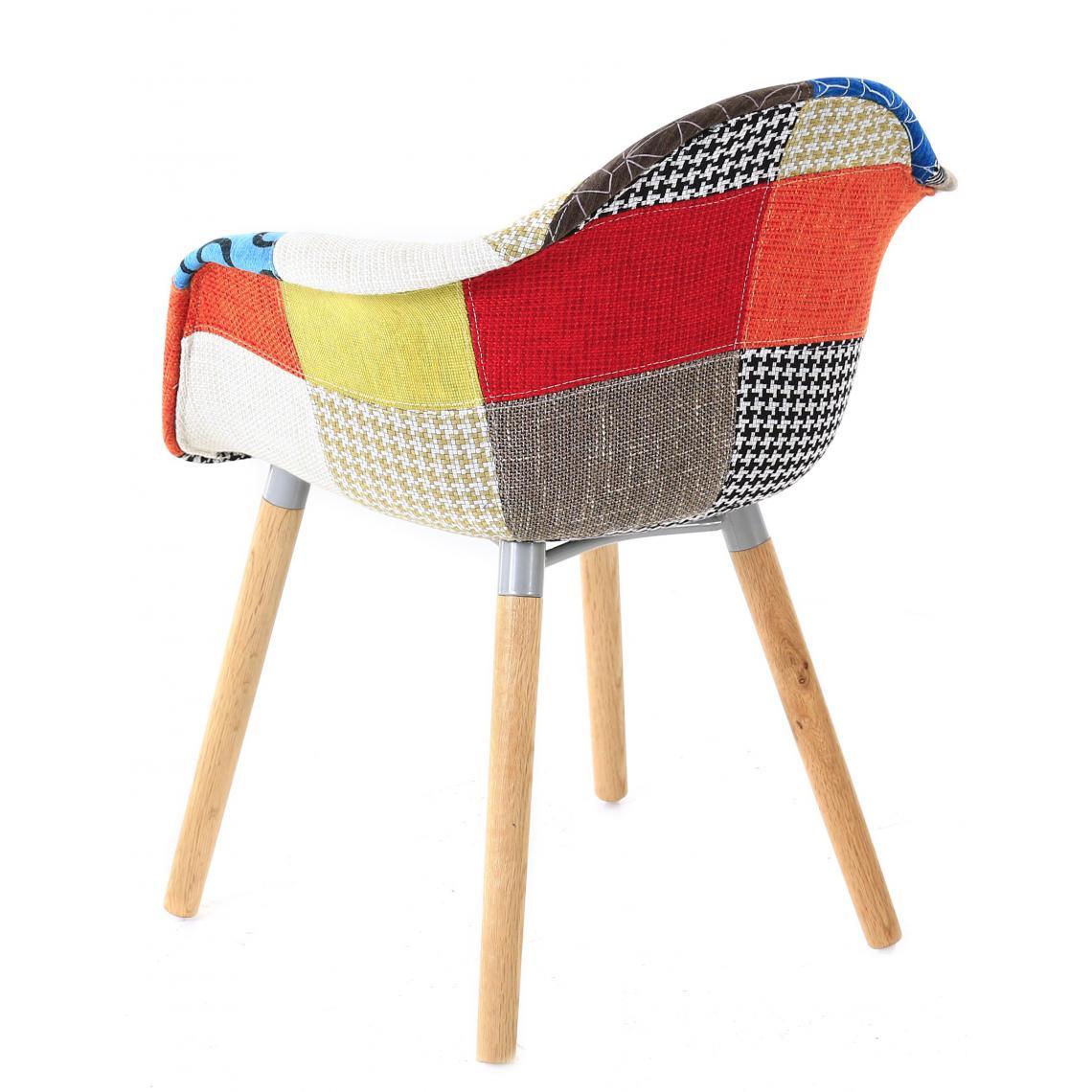 accoudoirs patchwork jord fauteuil