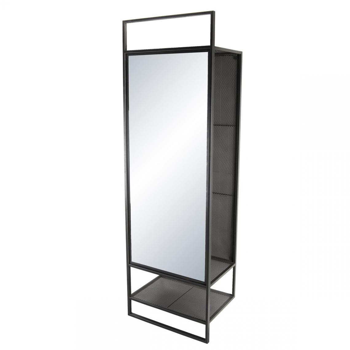 meuble d entree porte manteau avec miroir helena