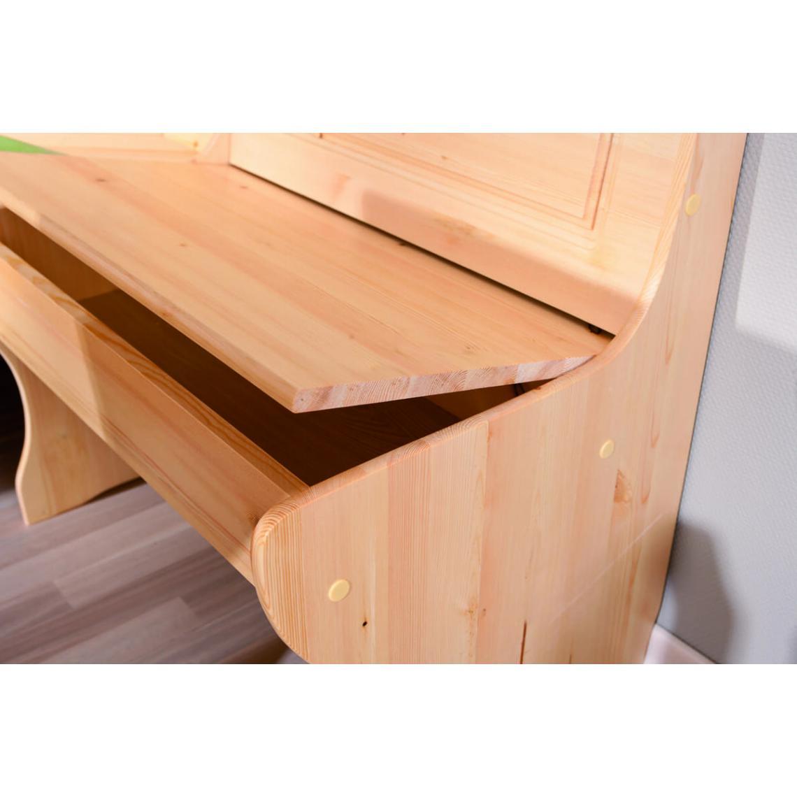 coin repas tirol vernis naturel table
