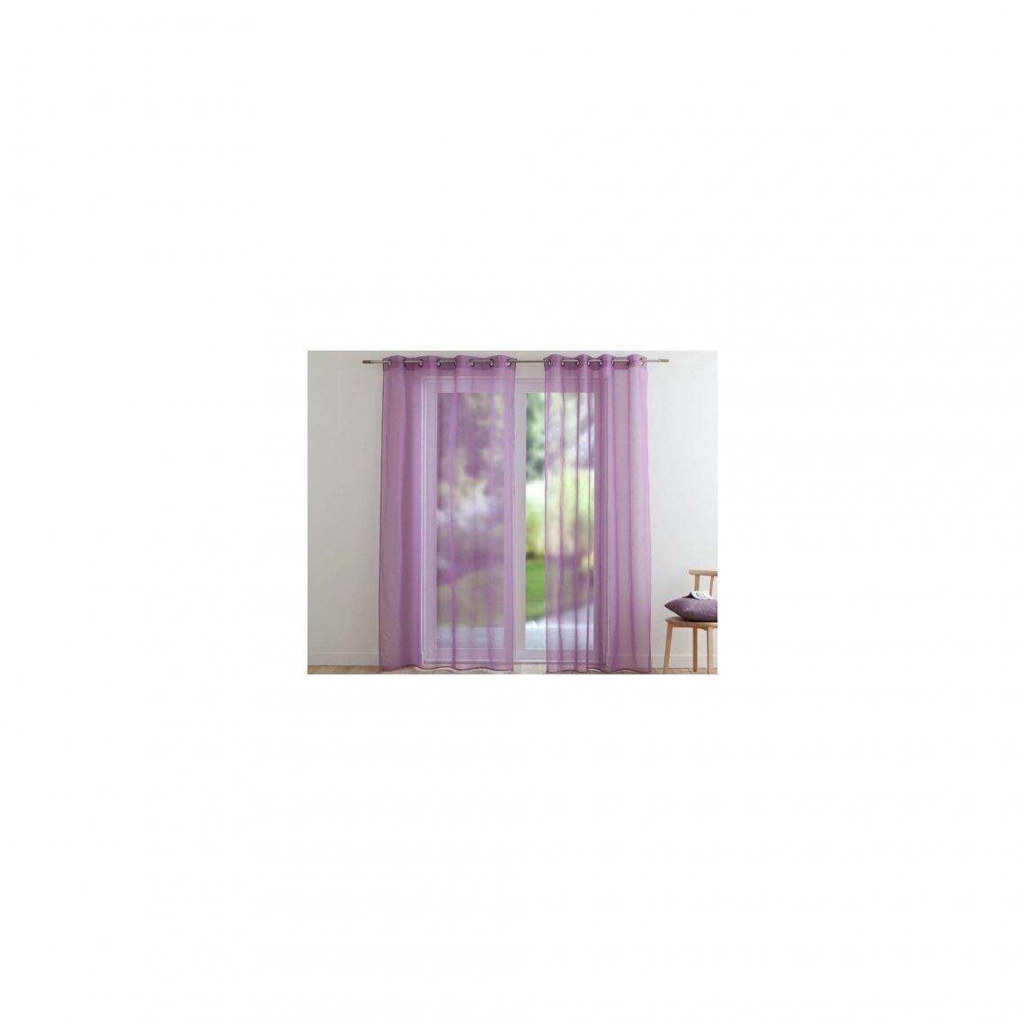 panneau voilage couleur violetvoir