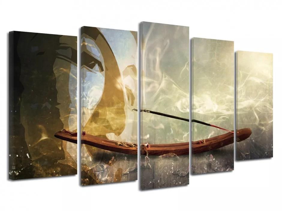Tableau Xxl Design Zen Sur Toile Imprimee Deco Pas Chere Declina