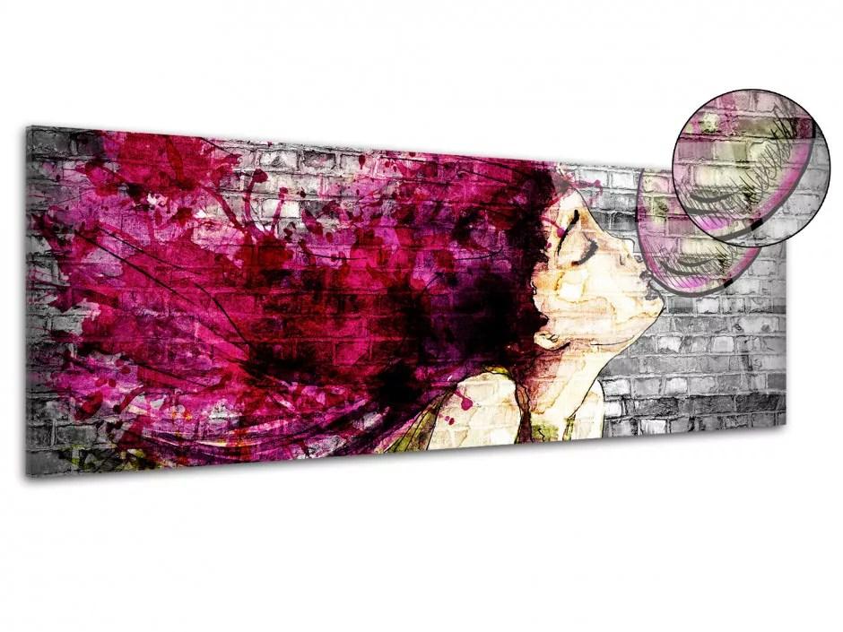 decoration murale street art sur plexiglas tableau deco