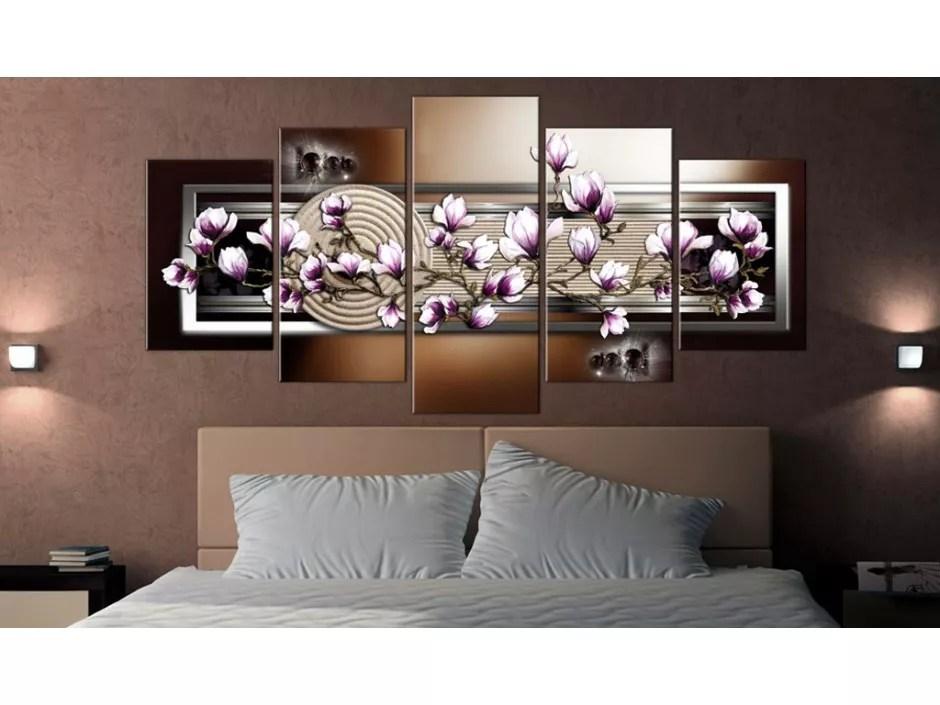 Tableau Zen Garden And Magnolia Declina