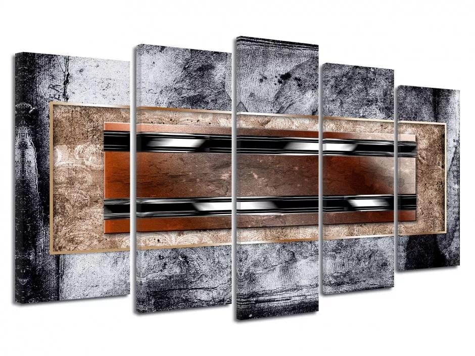 Tableau Xxl Design Abstrait Decoration Murale Pas Chere Declina