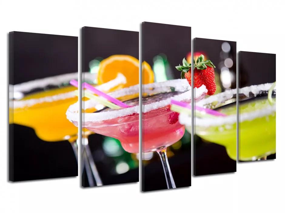 tableau moderne pas cher verre cocktail vente en ligne de tableau
