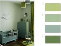association couleur avec le vert dans