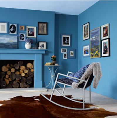 Couleur Salon Le Bleu Pour Le Salon On Dit Oui Dco