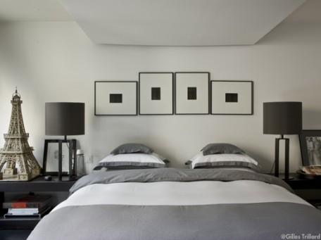 chambre grise pour une ambiance zen