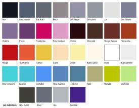 nuancier peinture resinence pour meuble bois 36 couleurs disponibles