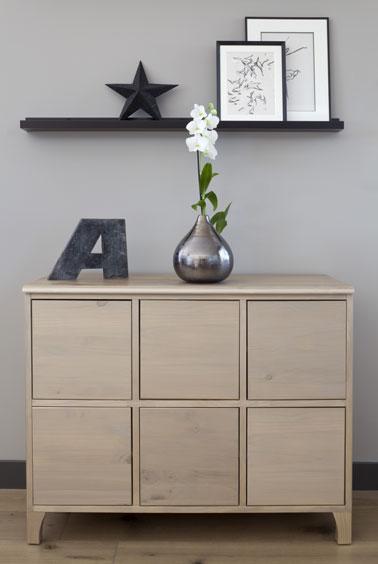peindre un meuble avec un effet blanchi