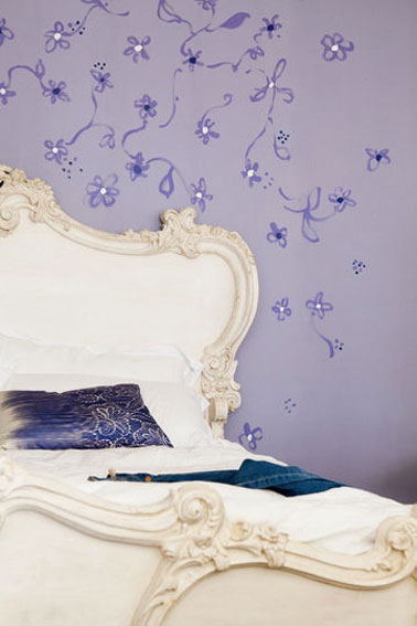 Dco Rose Et Violet Dans Salon Et Chambre Des Couleurs Pop