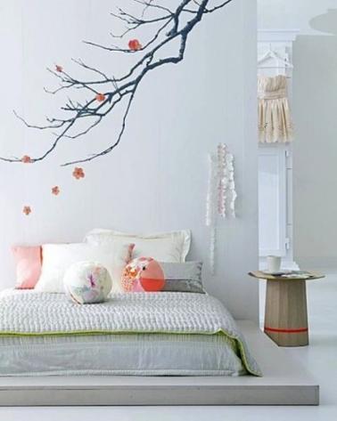 chambre grise et blanc ou beige 10