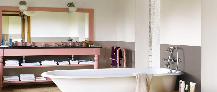 26 couleurs peinture salle de bain
