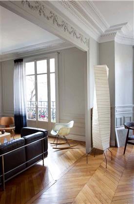 Dco Salon Blanc Repeindre Le Salon En Blanc Cest Chic