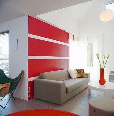 peinture salon aux couleurs tendance