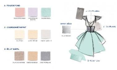 Collection Couture Planche Couleur Romantic Peinture Dulux