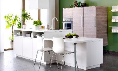 La Cuisine Ouverte Inspire Les Collections Ikea Et Castorama