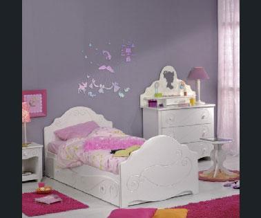 peinture chambre fille