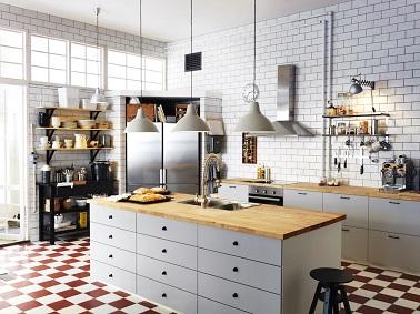cuisine style industriel