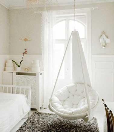 Une Chambre Ado Fille Cocooning En Blanc